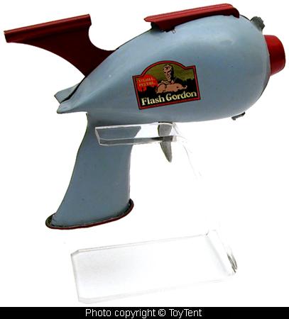 custom acrylic display stand for the Hubley Atomic Disintegrator